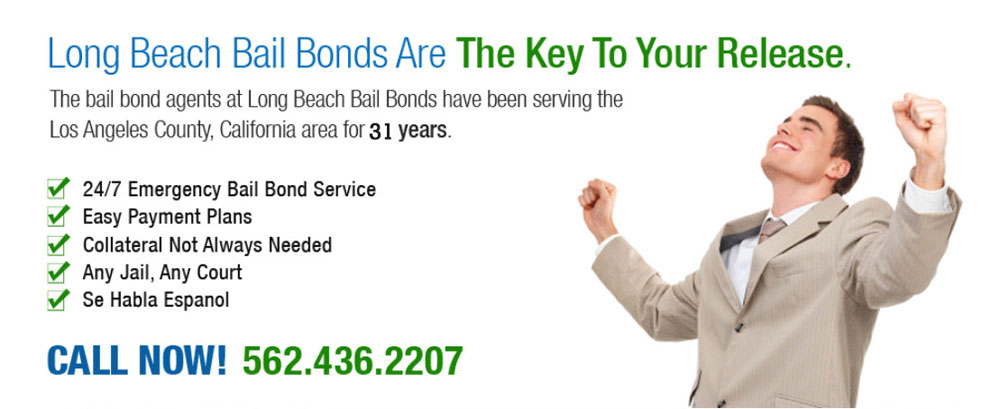 Long Beach Bail Bonds Services has been in business for over 31 years and our bondsmen have bailed out thousands of people. We are available 24 hours a day, 7 days a week and offer free consultations to discuss your available Long Beach bail bonds services options. We accept all major credit cards and also offer payment plans that break down into just three easy payments.