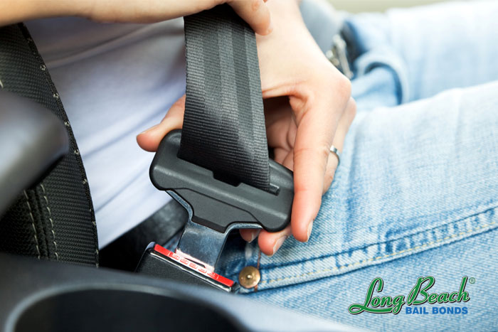 long beach bail bonds seat belt laws