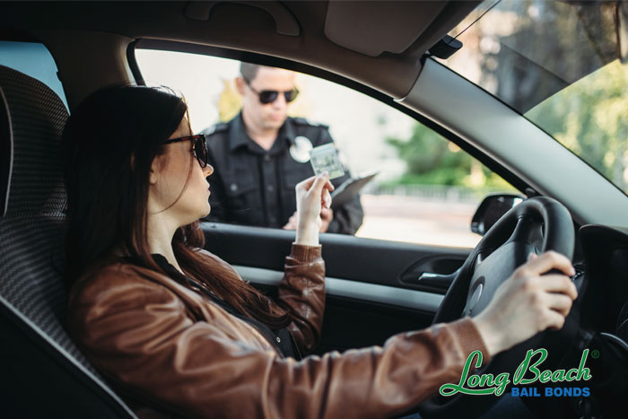 long beach bail bonds traffic ticket