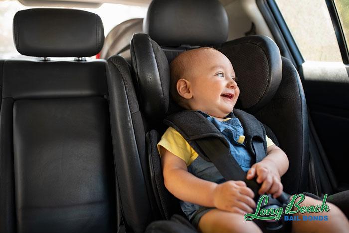 long beach bail bonds car seat laws