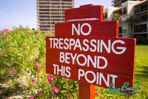 Trespassing laws